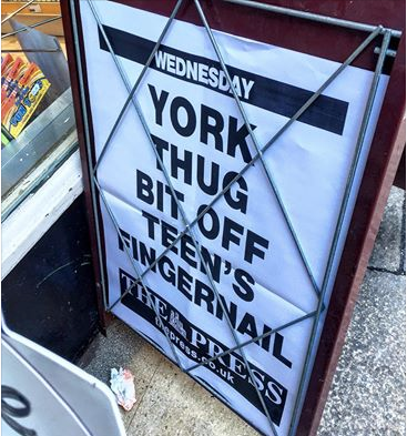 York fingernail bandit