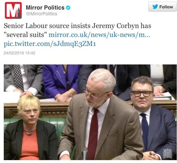 Corbyn suit