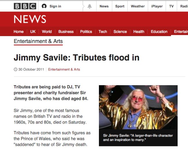 savile tributes