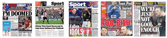 Van Gaal sacked
