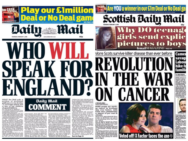 who will speak for england