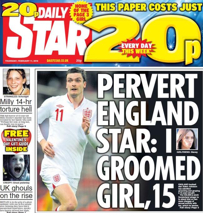 england pervert