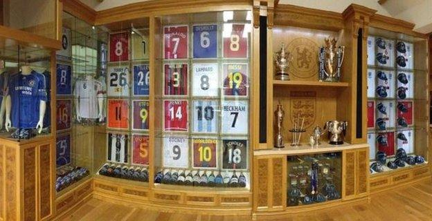 John Terry home shrine