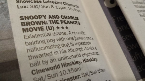 leicester mercury film reviews 1