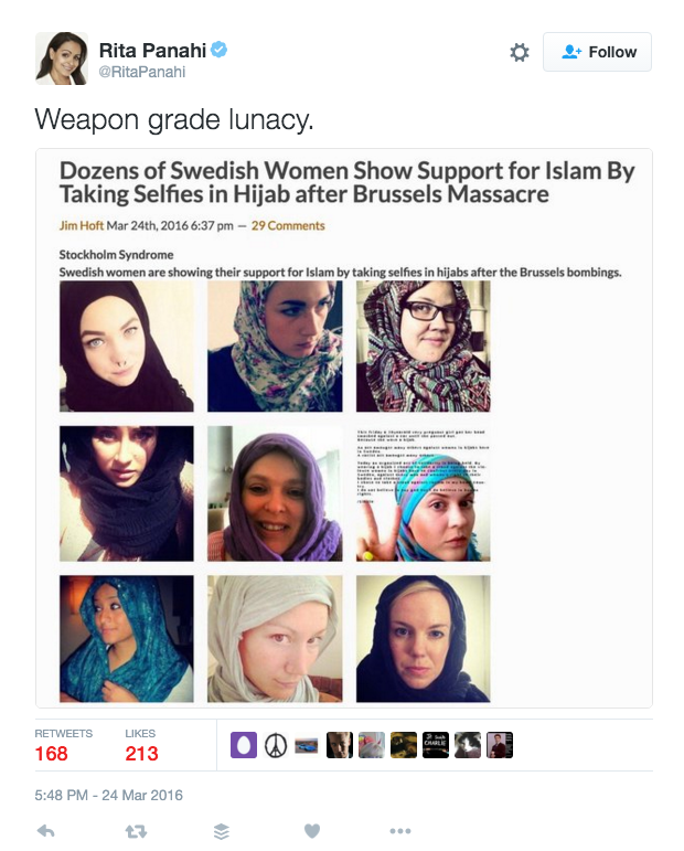 swedish women hashtag hijab