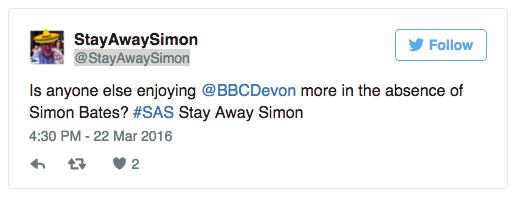 Simon Bates local news