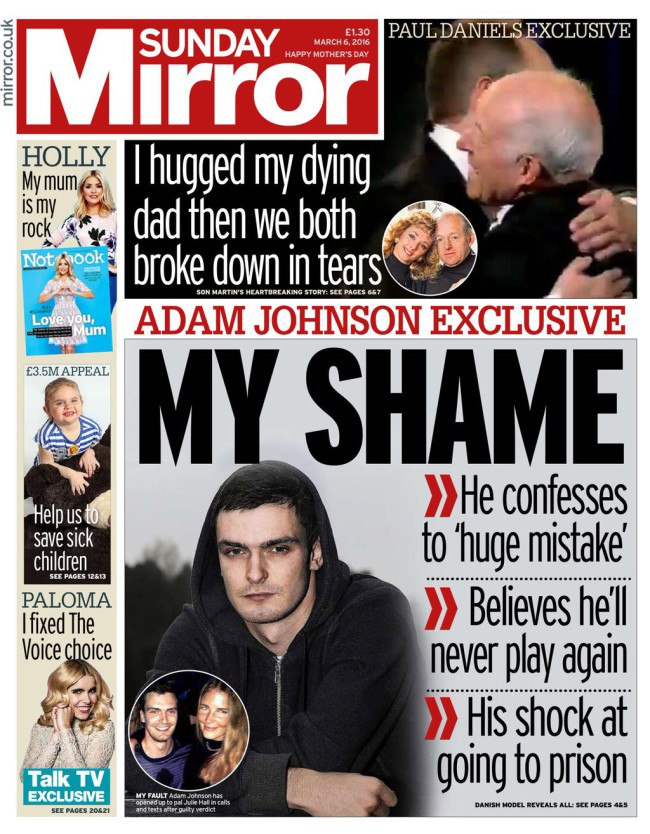 adam johnson sex