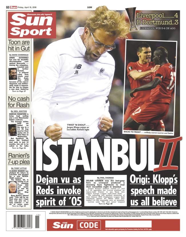 Liverpool Dortmund klopp miracle 2