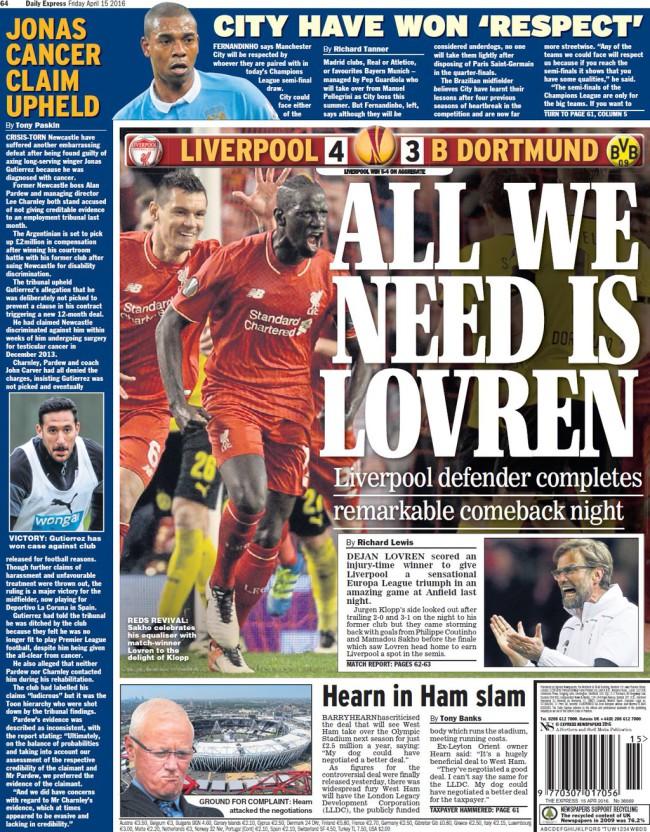 Liverpool Dortmund klopp