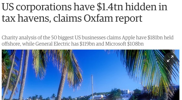 hidden tax oxfam
