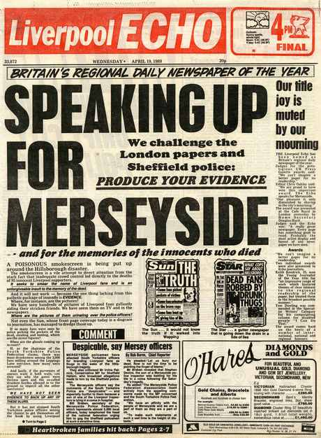 liverpool echo original hillsborough