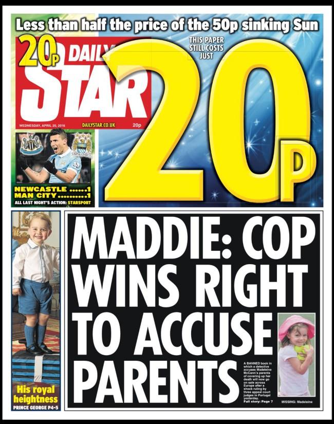 maddie mccann tabloids