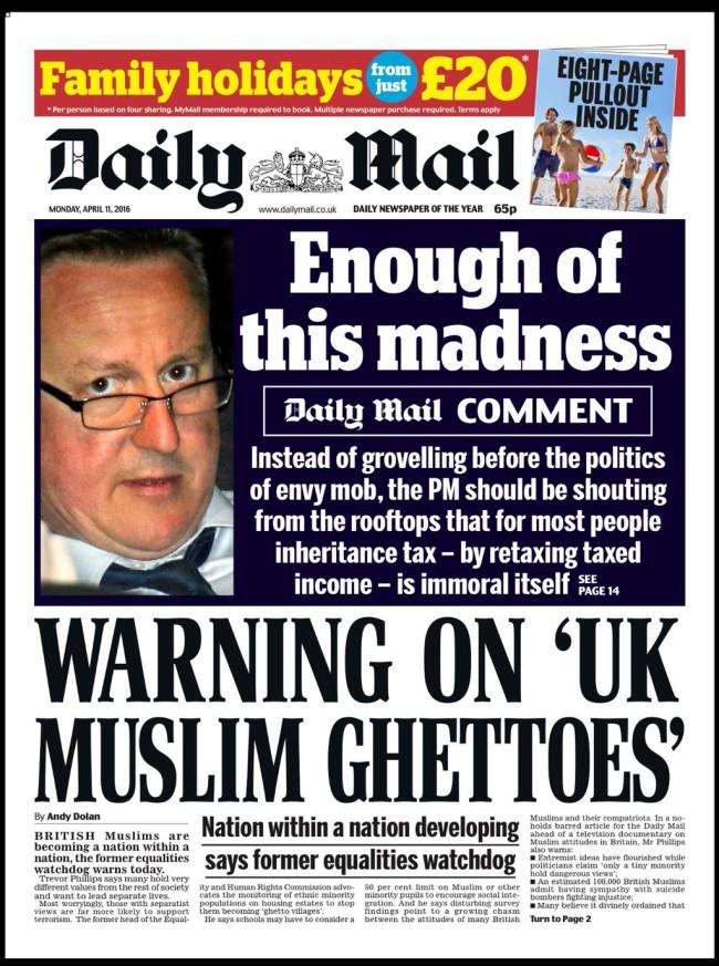 muslim ghettoes