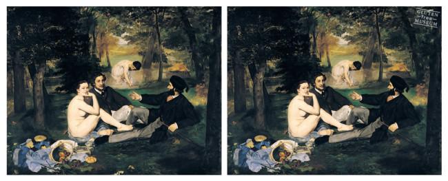 Édouard Manet gluten free