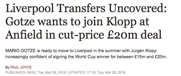 Liverpool Gotze
