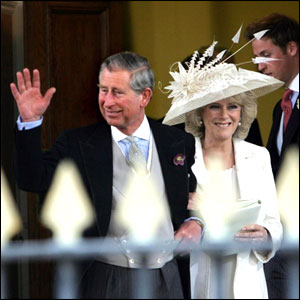 Camilla Charles wedding dress