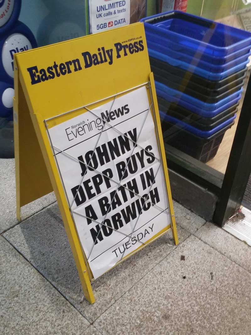 depp norwich bathtub news