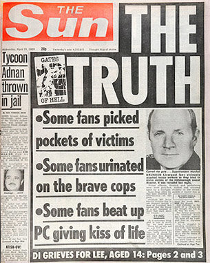 hillsborough the sun the truth