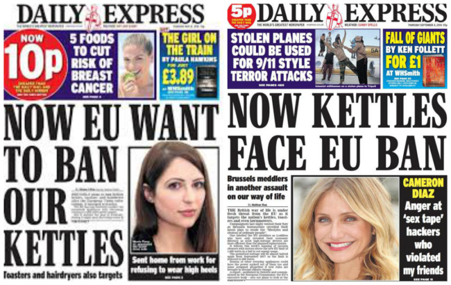 kettles EU Express ban