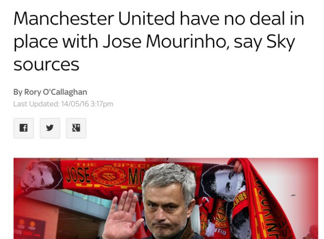 manchester united jose