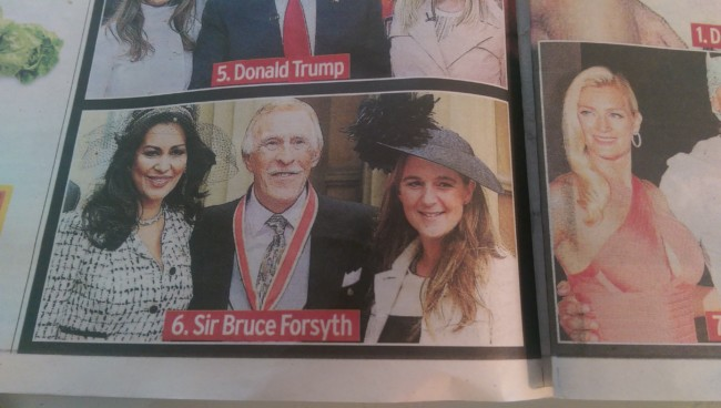 BRuce Forsyth daughter