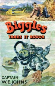 Biggles takes it