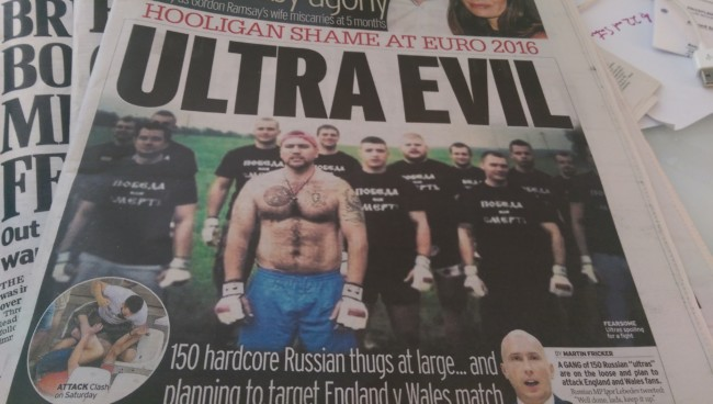 Russia ultras