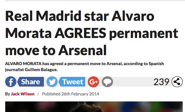Morata Arsenal