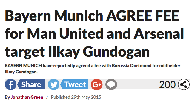 Gundogan Bayern agrees