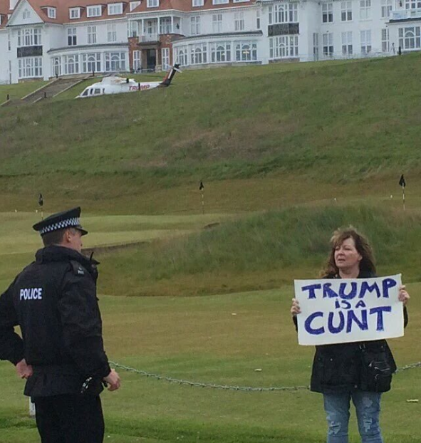 trump is a cunt