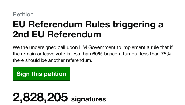 2nd referendum petition