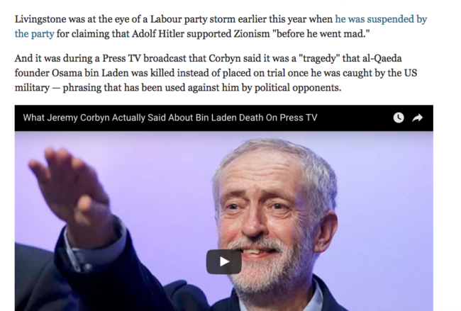 Corbyn PRess TV