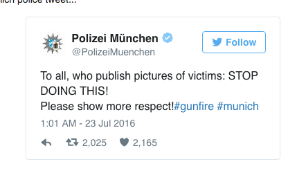 munich shooting Iranian