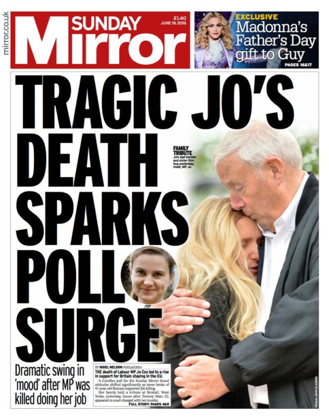 Jo Cox mirror killer brexit