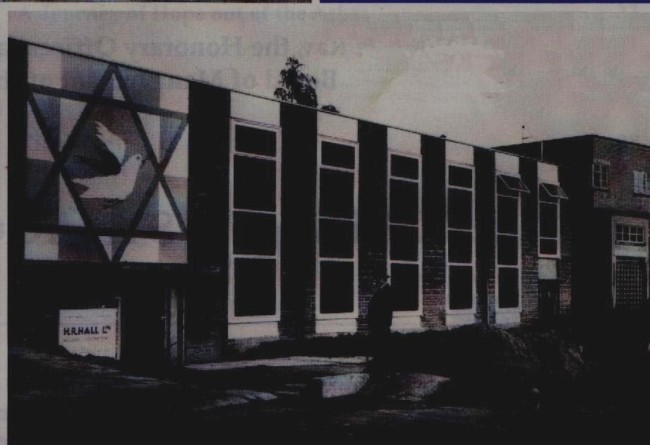 neasden synagogue 1968