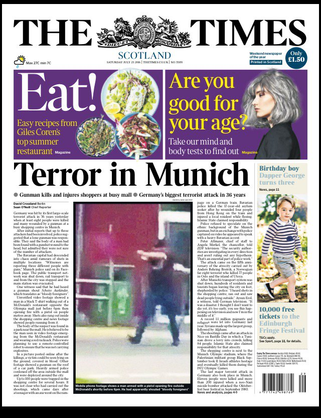 terror in munich