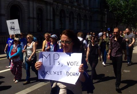 Brexit marchforeuope rally