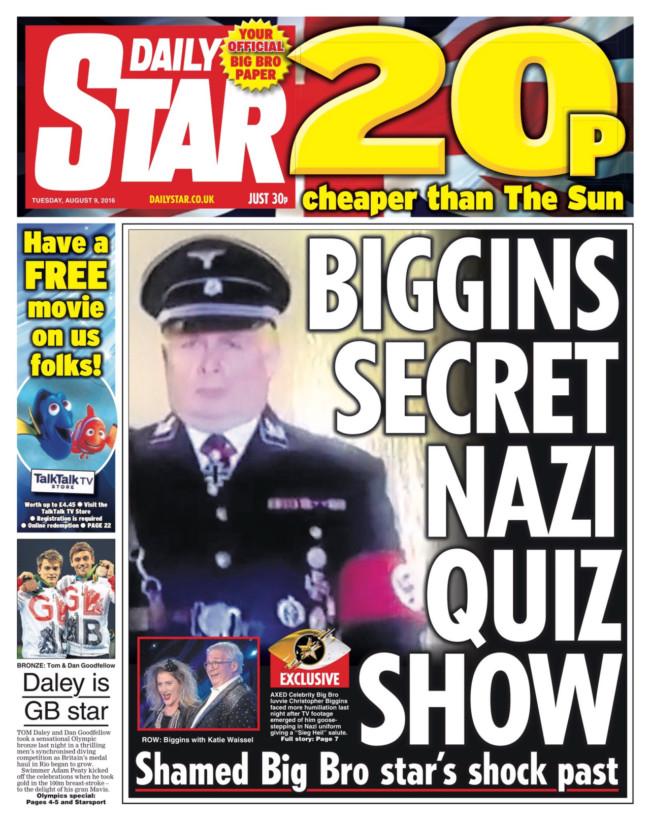Chris Biggins Nazi
