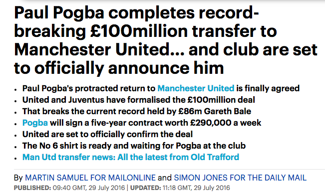 pogba daily mail