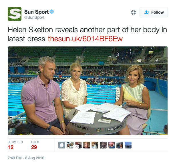 Helen sKelton naked legs