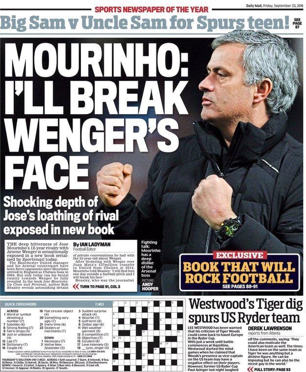 Anorak News | Jose Mourinho invited Arsenal's Arsene Wenger