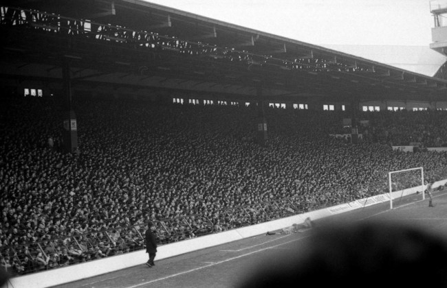 The Kop liverpool standing