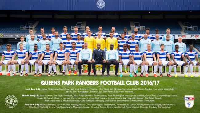 QPR squad