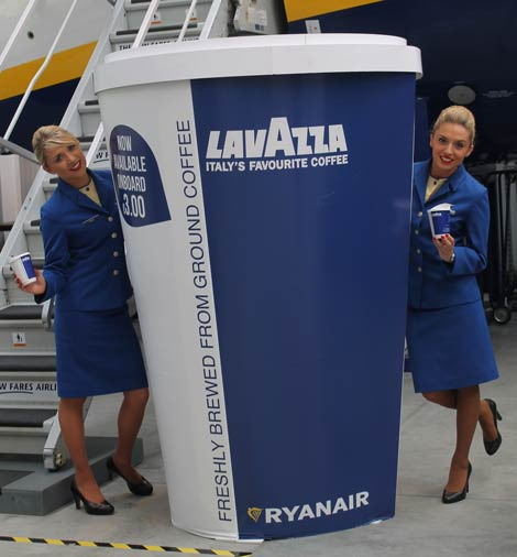 Ryanair coffee