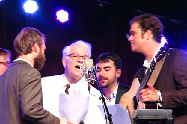 Steve Martin Writes Song for Hymn-Deprived Atheists