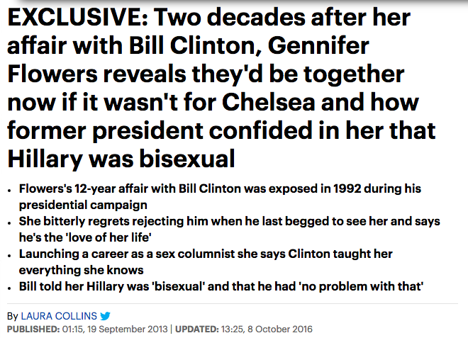 Hillary Clinton pussy