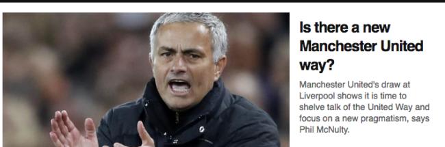 Vintage Jose Mourinho