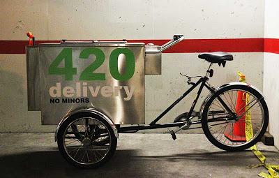 420 marijuana cart