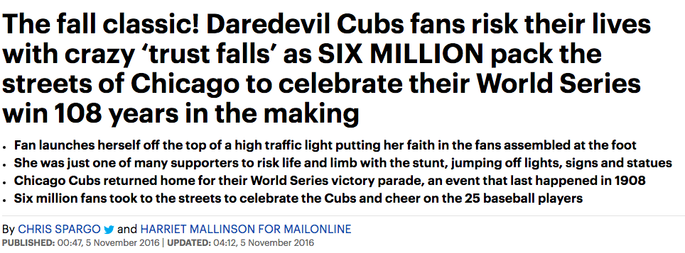 Chicago Cubs millions