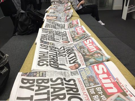 City University ban newspapers